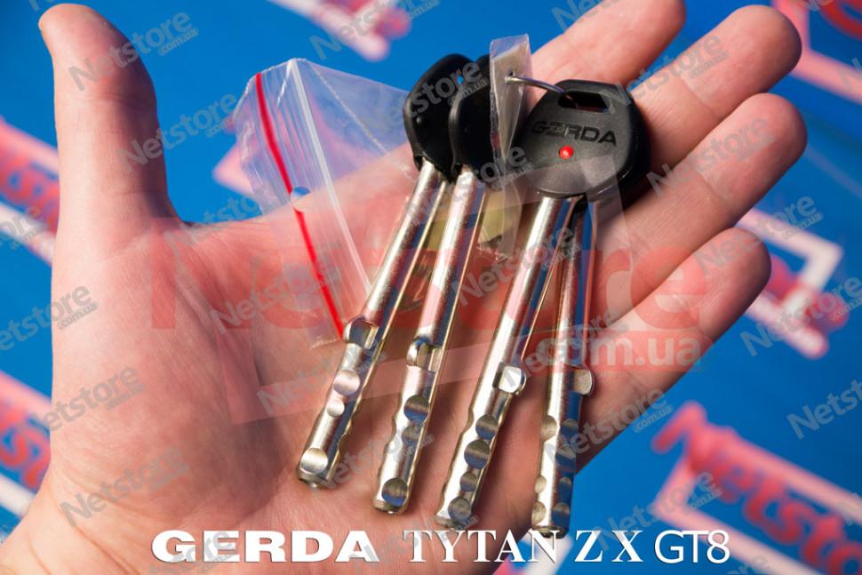 длинный ключ Gerda Tytan ZX GT8