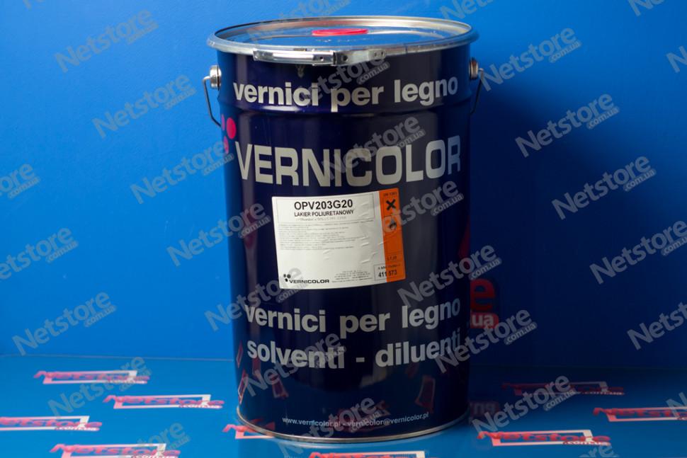 Vernicolor OPV 203 g полиуретановый лак для столярных изделий мебели и дверей VERNICOLOR OPV 203 G (Верниколор)