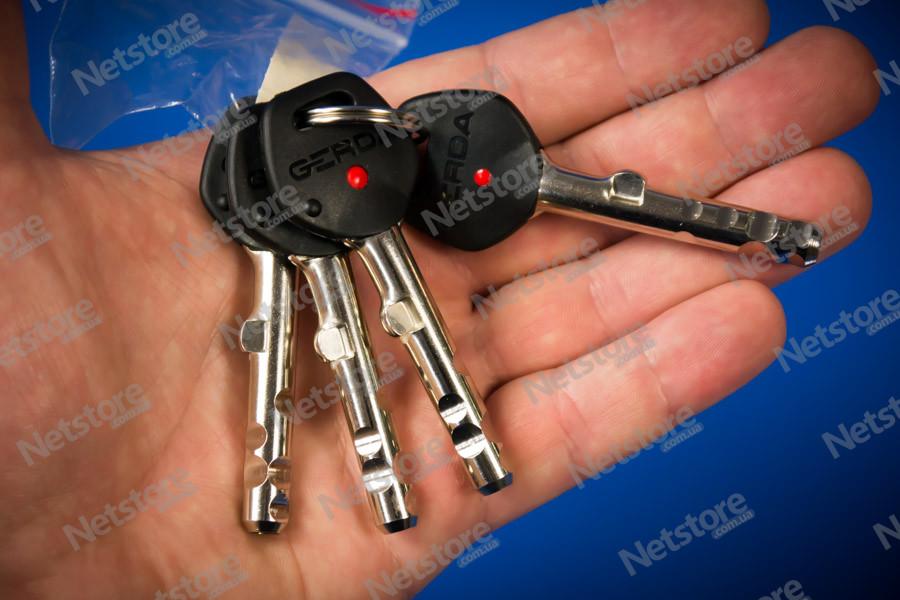 короткий ключ Gerda Tytan ZX