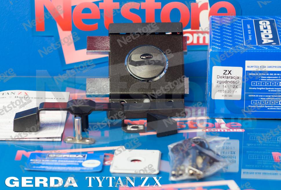 Gerda Tytan ZX укомплектованый замок