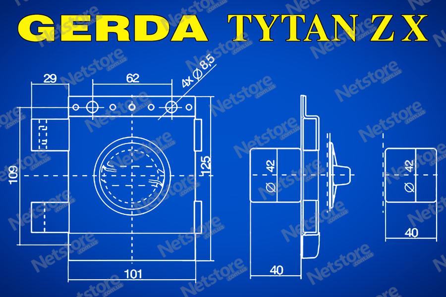 Gerda Tytan ZX купить Украина