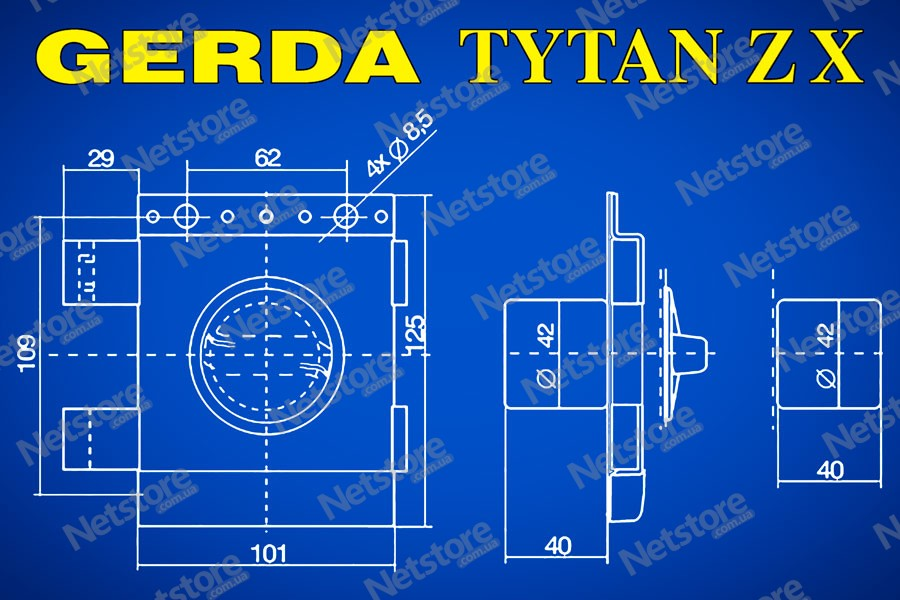 Gerda Tytan ZX GT 8 купить Украина